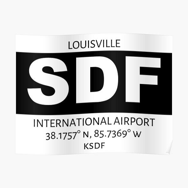 Louisville International Airport SDF Poster
