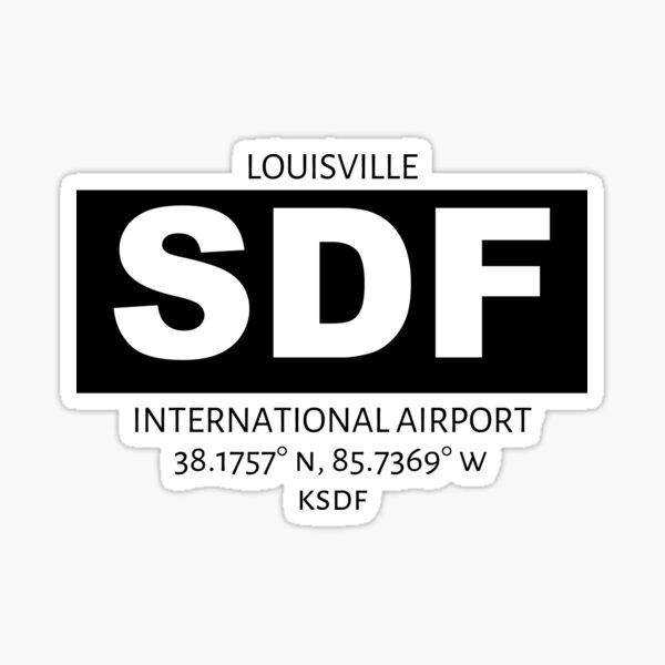 Louisville International Airport SDF Sticker