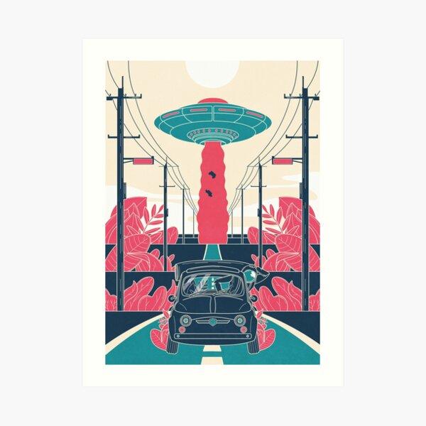 Space Afternoon Art Print