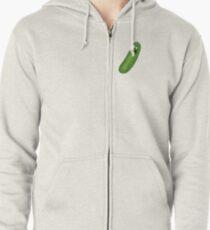 Pickle Rick Zipped Hoodie
