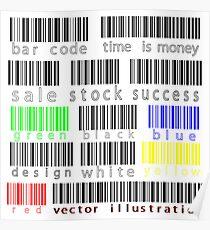 Bar codes Poster