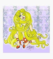Rapunzel Let Down your Golden Hair Photographic Print