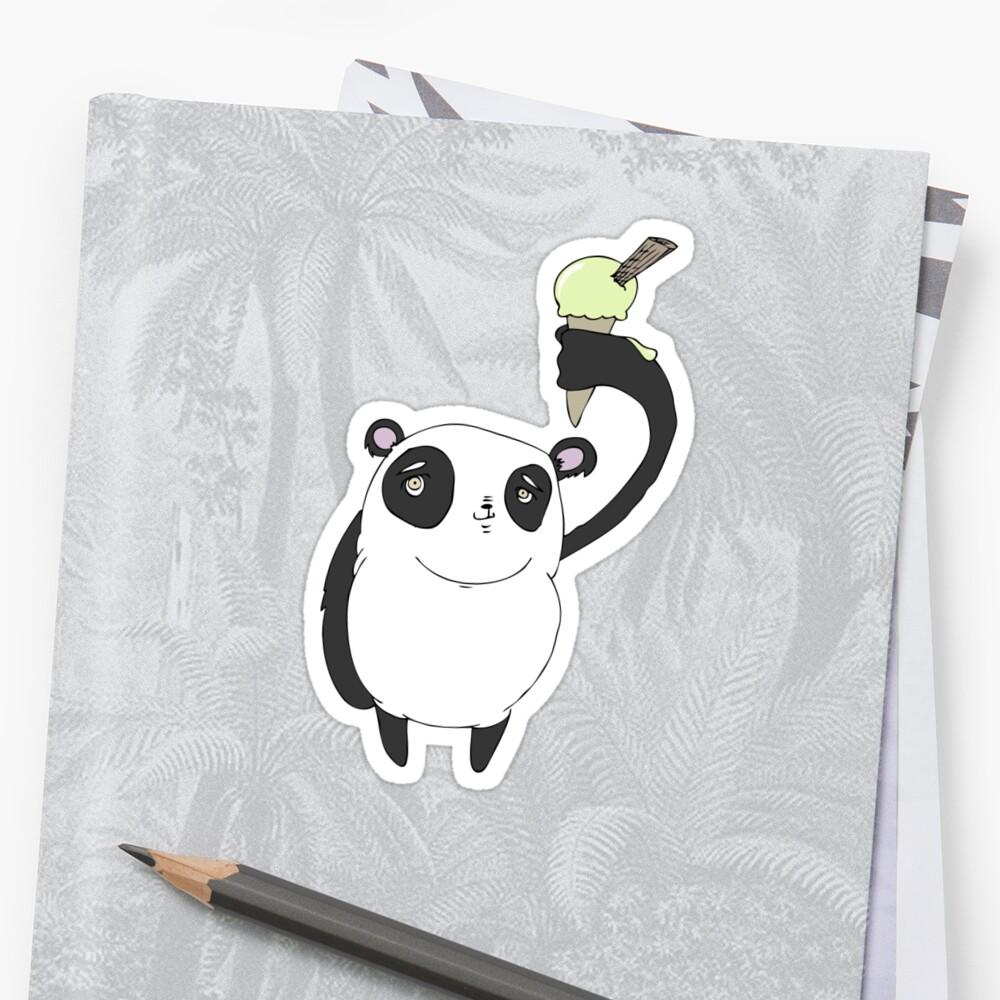 ice cool panda by James Smart