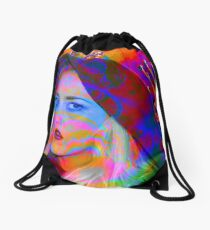 Lost in the Music Drawstring Bag