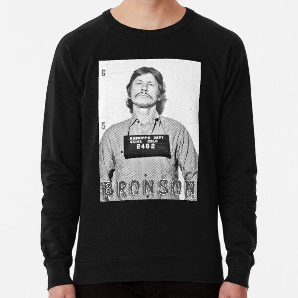 Charles Bronson arrest mugshot fan art Lightweight Sweatshirt