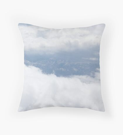 Views from Above: Sucker Hole Throw Pillow