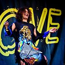 Neneh Cherry enjoying herself at Love Supreme Jazz Festival by MarcW
