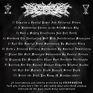 ETERNAL CANDLESHADOW OF THE NEKRODEMONCHALICE (Faces The True Desolation Of Sacrificial Grimskulls In The Moonforest Of The Thronegoat) - Album Cover (track listing)... by IWML