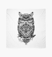 Tribal Tiger Owl Scarf