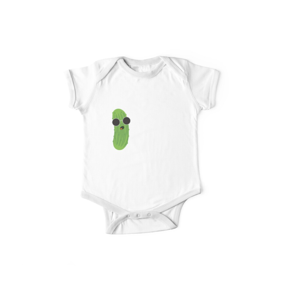 Infant Toddler Baby Cotton Bodysuit One Piece Dill Pickle What/'s The Dill