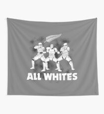 All Whites Wall Tapestry