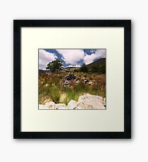 Valley Cottage- Kerry Framed Print