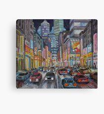 Cityscape 2010 Canvas Print