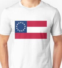 First Confederate Flag Unisex T-Shirt