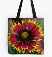 Indian Blanket Square Tote Bag