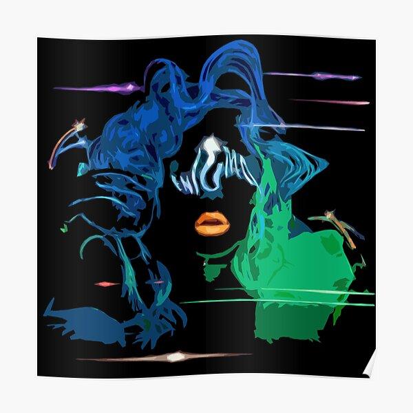 Enigma Lady Gaga Poster