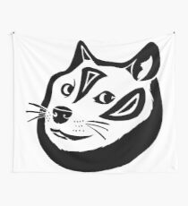 Tribalish Doge Wall Tapestry