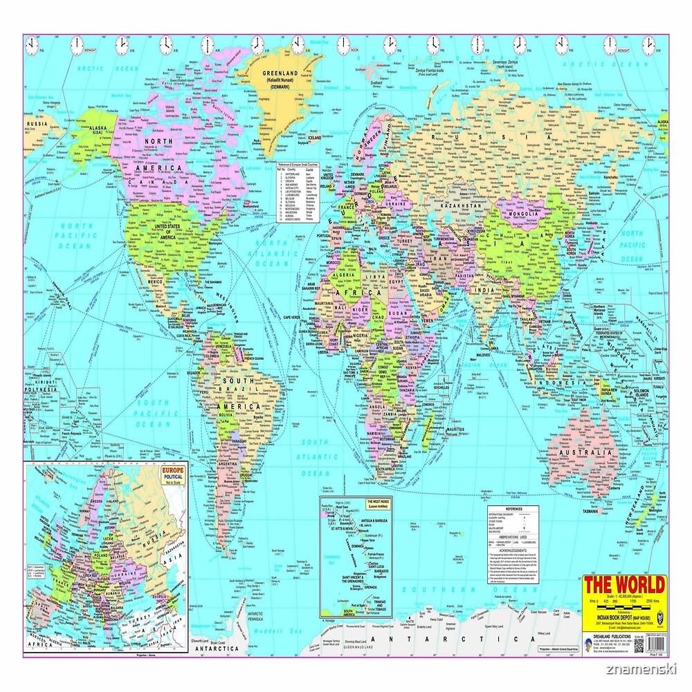 #World #Map #WorldMap by znamenski