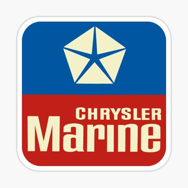 Chrysler Marine USA Sticker