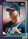 470 - Dan Pasqua by Foob's Baseball Cards