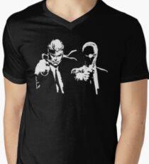 Metal Gear Fiction (Pulp Gear Solid) Men's V-Neck T-Shirt