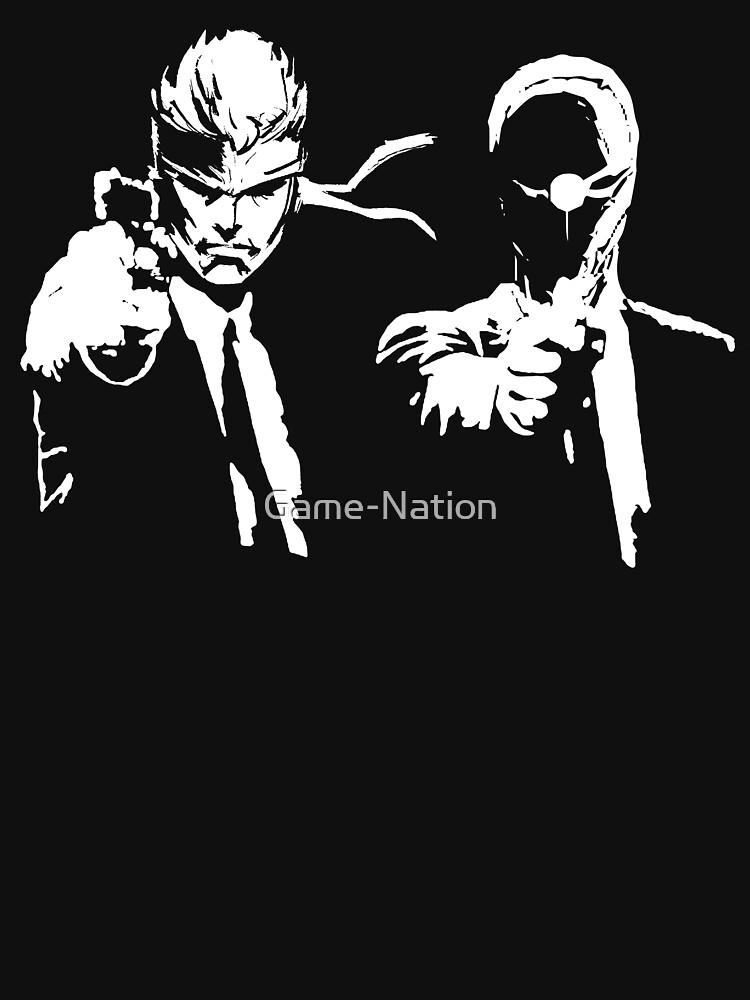 TShirtGifter presents: Metal Gear Fiction (Pulp Gear Solid) | Unisex T-Shirt