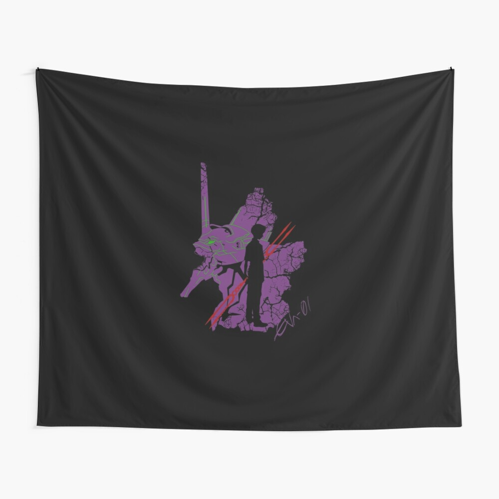 Evangelion Unit-01 Wall Tapestry