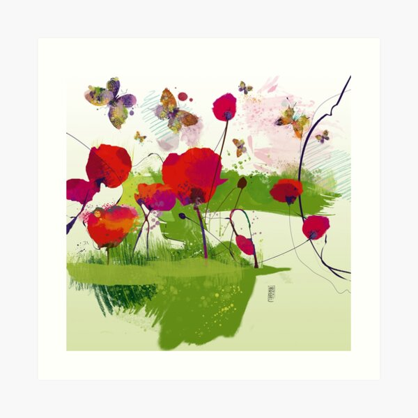 Spring's coming Art Print