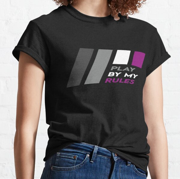 Pride Stripe: Play By My Rules Classic T-Shirt