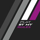 Pride Stripe: Play By My Rules by Kavaeric