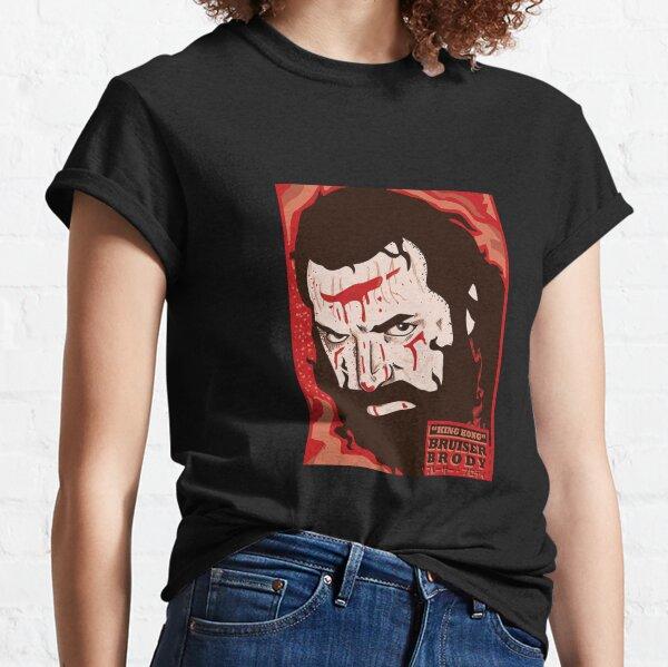 BRUISER BRODY art print design wrestling hardcore icon legend  Classic T-Shirt