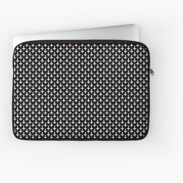 Upside down Cross Pattern Laptop Sleeve
