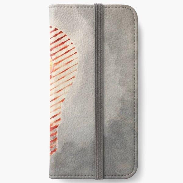 """Light Mind: orange""  iPhone Wallet"