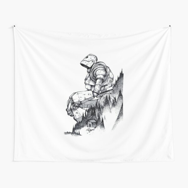 Iron Giant Tapestry