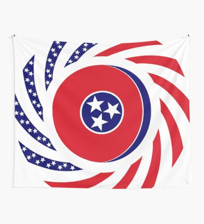 Tennessean Murican Patriot Flag Series Wall Tapestry