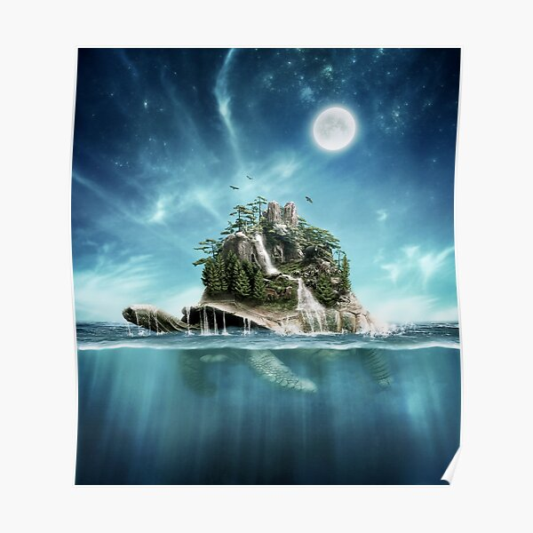 Turtle Island Poster