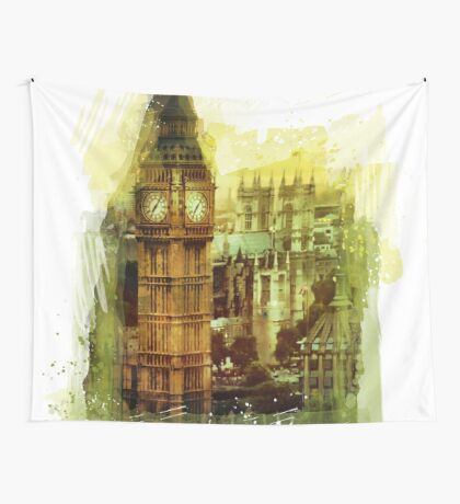 London - Big Ben Wall Tapestry