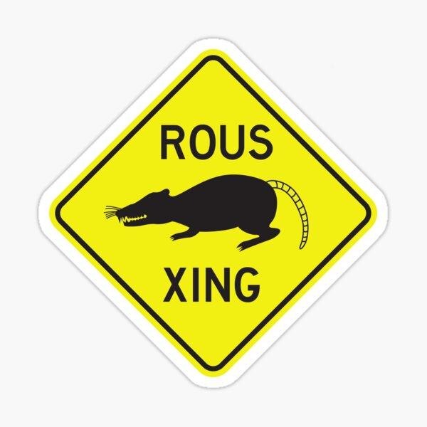 ROUS Crossing Sticker