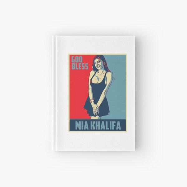 Que Dieu bénisse Mia Khalifa - Mia Khalifa - La meilleure Mia Khalifa - Mia Khalifa Carnet cartonné
