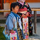 Childrens day at the Heian Shrine, Kyoto, Japan by johnrf