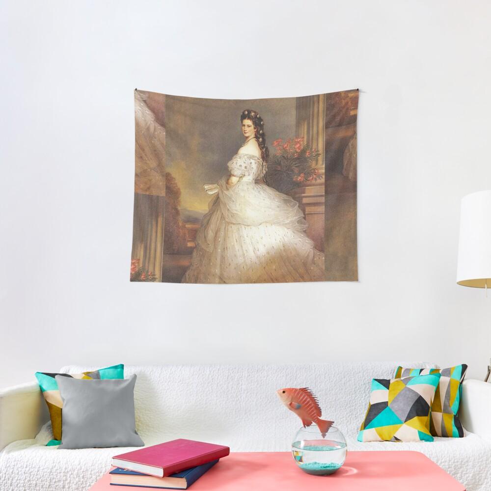 "Empress ""Sissy""...Elizabeth of Austria by Winterhalter Tapestry"