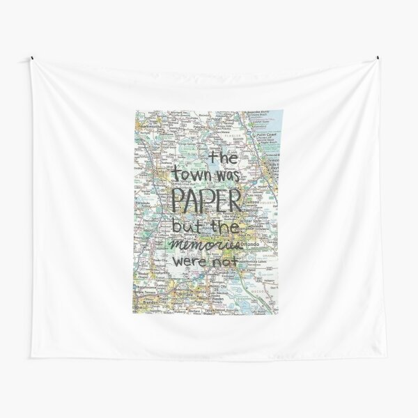 Paper Towns Tapestry