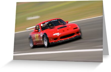 Mazda Miata at the racetrack by calgecko