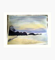 day break at little waterloo bay #2 Art Print
