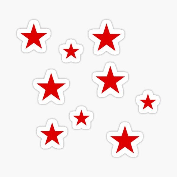 Red Star Sticker Pack Sticker