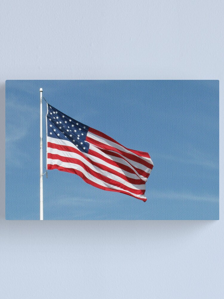 Alternate view of Old Glory Canvas Print