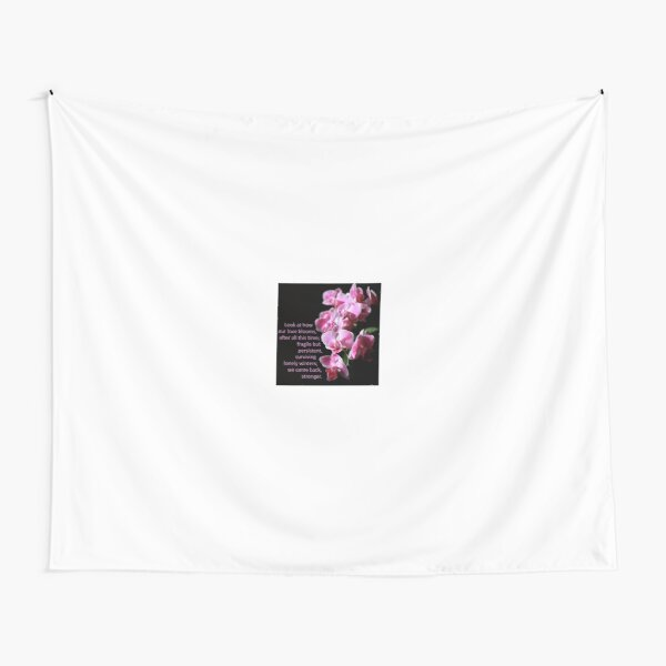 Look At How Our Love Blooms Tapestry