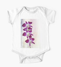 Orchids One Piece - Short Sleeve