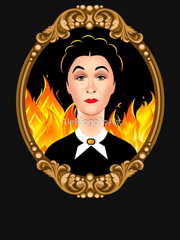 Mrs. Danvers by AleMogolloArt