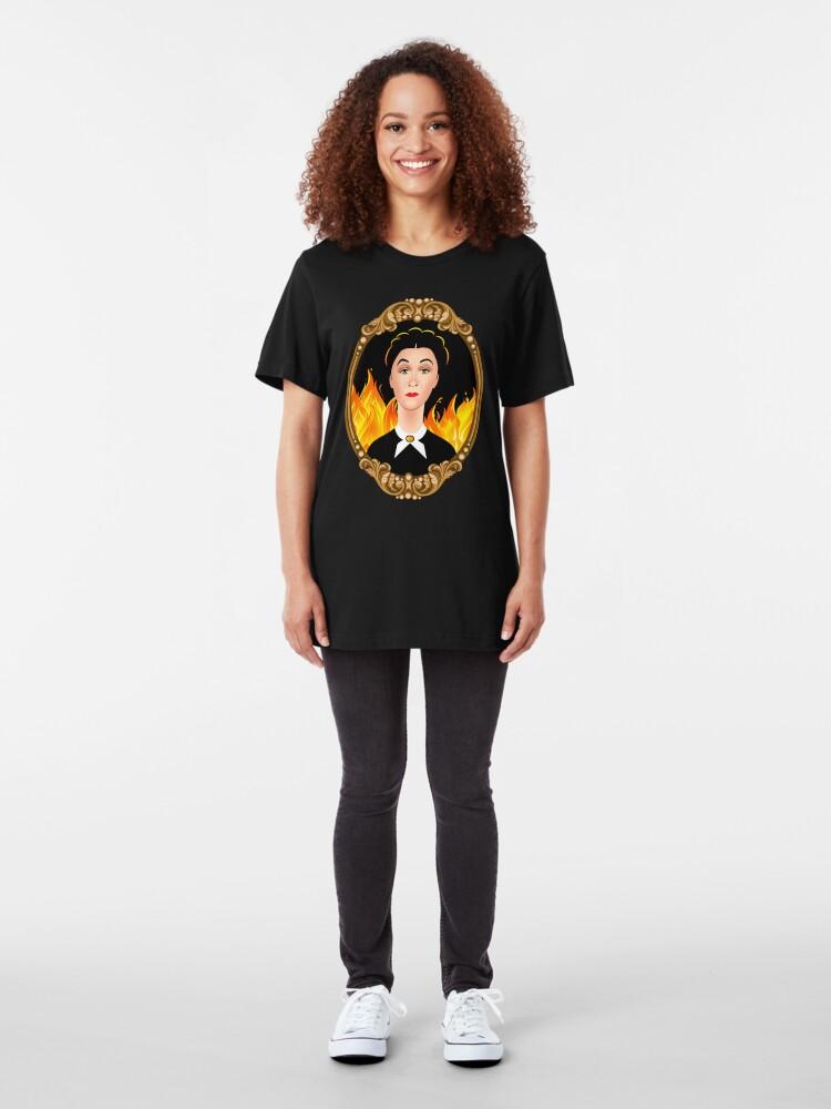 Alternate view of Mrs. Danvers Slim Fit T-Shirt